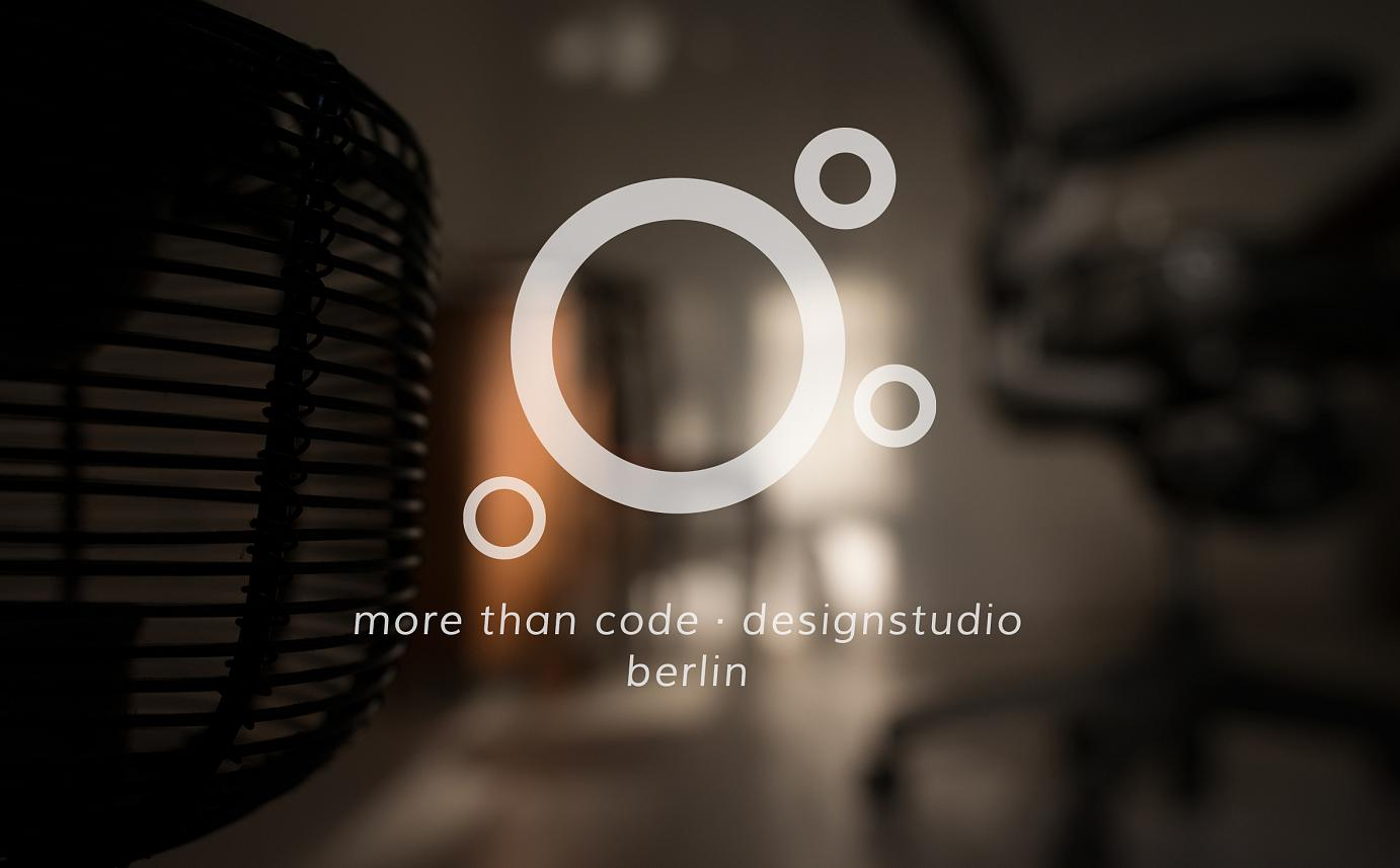more than code · designstudio | Designstudio Berlin Spandau