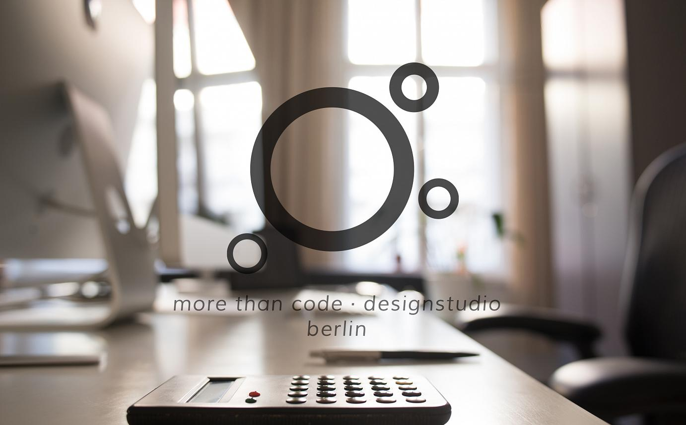 more than code · designstudio | Webdesign Berlin Spandau